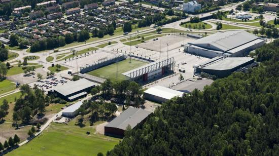 Rocklunda-området i Västerås.