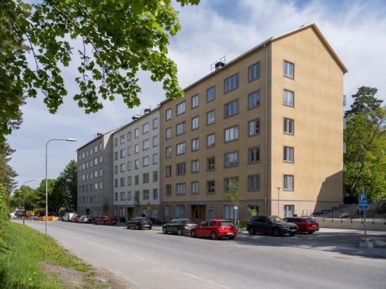 Stockholmshusen på Hagsätravägen i Bandhagen.