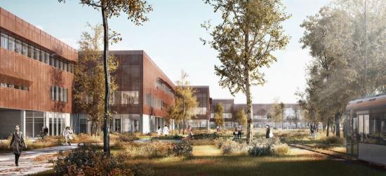 Syddansk Universitet ny byggnad för hälsovetenskap Odense - SDU SUND.