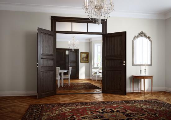 I dennya dörrkollektionen SUPERIOR collection satsar Swedoor på hantverk och exklusiv design.