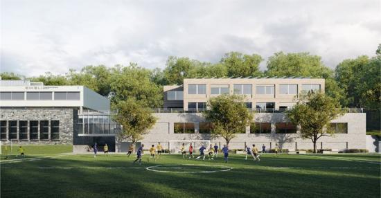 <span><span><span><span>Eikeli gymnasium i Bærum i Norge ska renoveras och utvidgas. Arkitektkontoret bakom nya skolanär Nordic Office of Architecture.</span></span></span></span>
