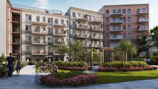 200 bostadstäder ska byggas i Nacka (bilden är en illustration).