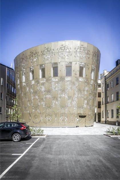 Humanistiska Teatern, White arkitekter, Nominerat till PLÅTPRISET 2018.