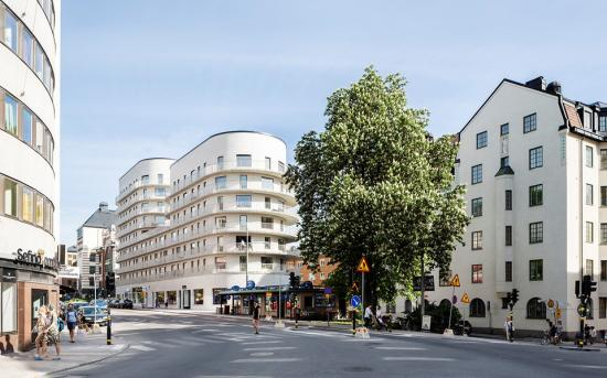 Flerbostadshuset Basaren är fjärde finalisten.