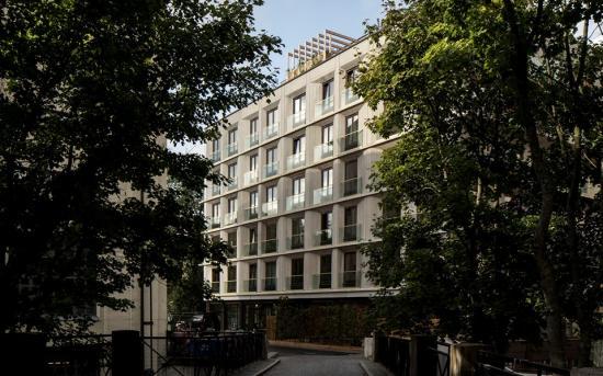Flerbostadshuset Monoär åttonde projektet som har chansen att bli Årets Stockholmsbyggnad 2019.
