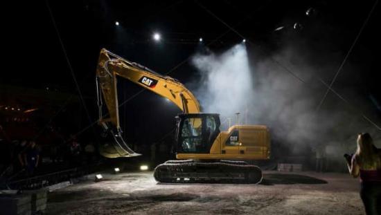 Cat 320 - Nästa generations grävmaskin