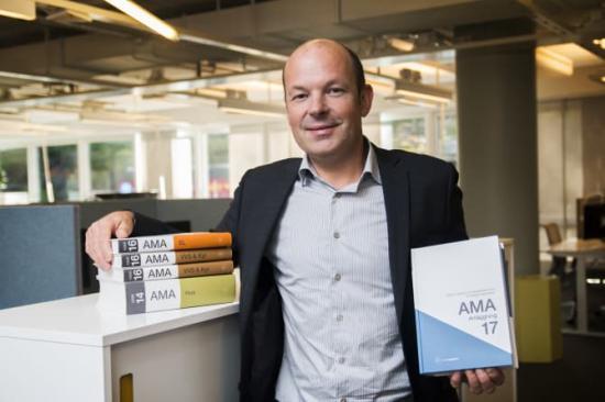 Jan-Olof Edgar, AMA-chef på Svensk Byggtjänst.