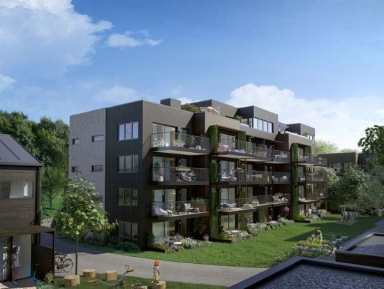 Lägenheter i Asker Norge.
