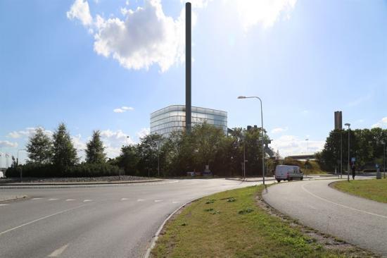 Uppsala värmeverk Carpe Futurum. Bilden är ett montage.