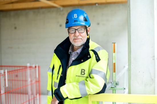Berndt Jonsson, nationell arbetsmiljösamordnare på Byggföretagen.