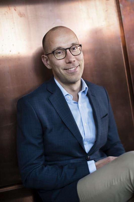 Fredrik Jonsson, chef vid Affärsinnovation på Skellefteå Kraft.