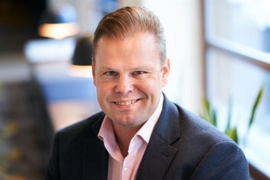 Marko Rinkinen, regionchefm, Peab Finland.