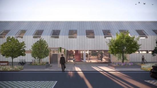 Hinbygården 7, nytt huvudkontor för Beckhoff Automation (bilden är en illustration).