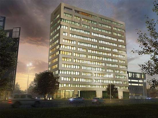 Scandic Örebro Central, kommer att ligga vid den norra infarten till Örebro centrum och är en del av Klöverns projekt Örebro Entré.