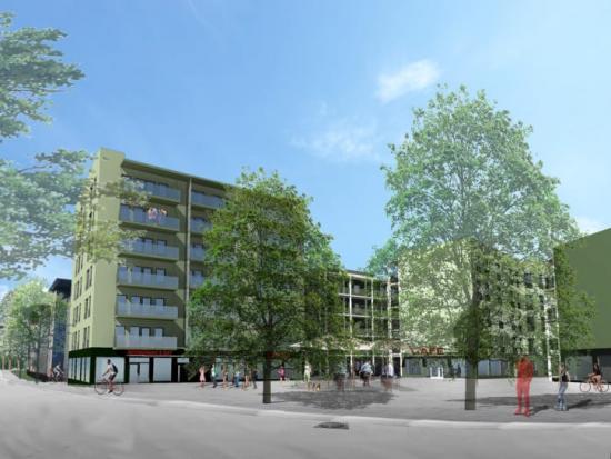 När fas 2 av Colonia är klart kommer området att erbjuda miljövänligt boende för cirka 1000 studenter och forskare.