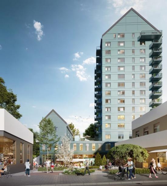 Gårdstens Centrum är under fortsatt utveckling.