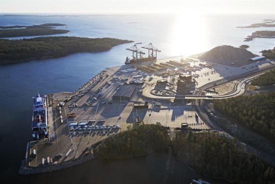 Norviks hamn.