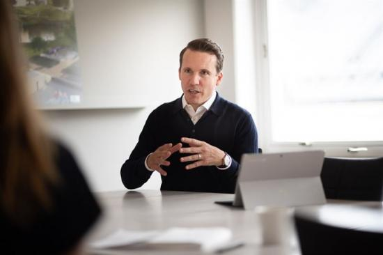 Nicke Rydgren, COO på PE Teknik & Arkitektur.