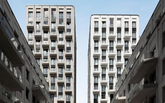 Haga Nova är flerbostadshuset som tarfinalistplatsnummer sex.