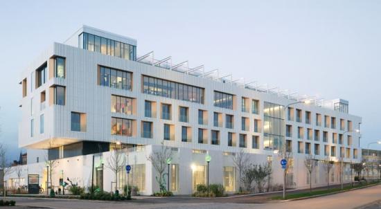LINK arkitektur har ritat Skandionkliniken i Uppsala.