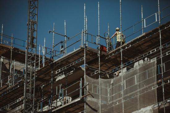 Tre län dominerar användningen av byggmaterial.