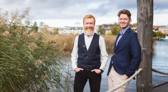 Per Olsson och Alexander Landborn ska leda LINK Arkitekturs hållbarhetssatsning
