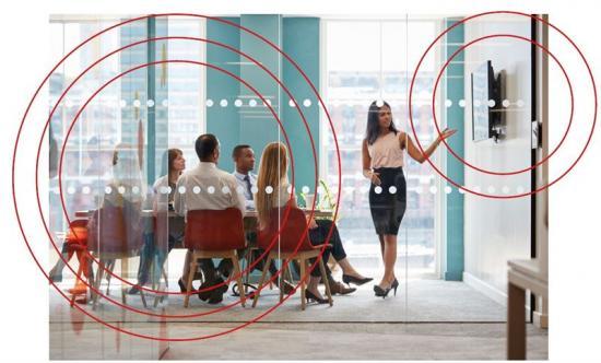 Optimal ljudmiljö för flexibla kontor med PARAFON DECIBEL
