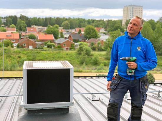 Jan Holmström, Ventilationsingenjör hos HSB i Västerås.