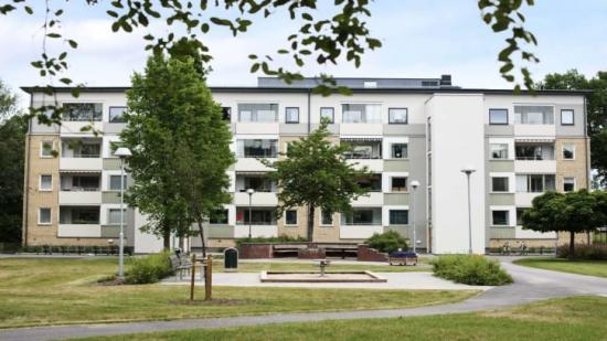 60-talsområdet Skarpan i Linköping, blev mer miljövänlig efter ombyggnationen.
