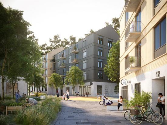 Bonava vinner markanvisning i Rågsved(bilden är en illustration).