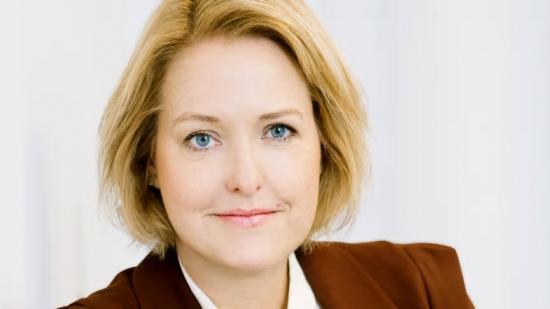 Kajsa Hessel, ny vd för AB Svensk Byggtjänst.