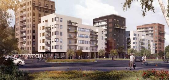 Utvecklingen av den regionala stadskärnan Flemingsberg fortsätter.