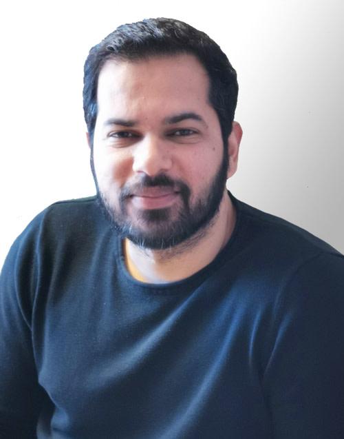 Hussein Zeki, projektledare för Årjängs kommun.