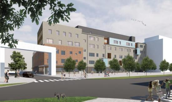 En ny grundskola och förskola byggs i Varvsstaden.