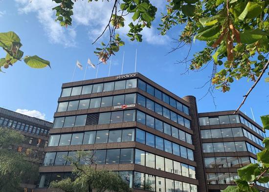 <span><span>Kontorsfastigheten Brädstapeln 16, som <span><span>KPA Pension förvärvat </span></span>av Areim för 4,3 miljarder kronor. Det är den tredje största fastighetsaffären som hittills gjorts i Sverige.</span></span>