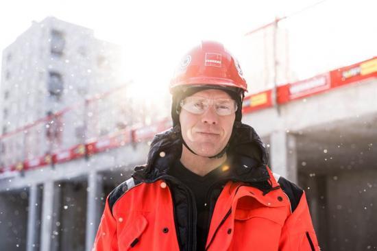 David Grimheden, Teknik- och miljöchef Veidekke Sverige.