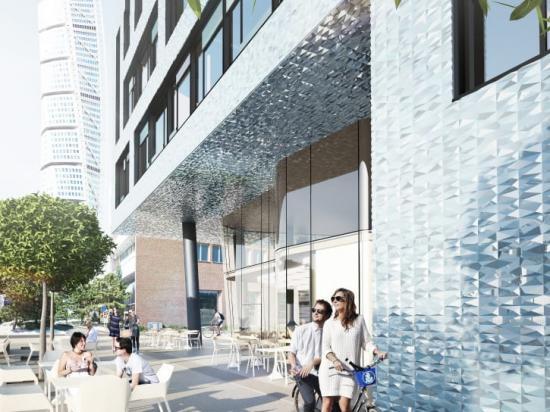 Midroc utvecklar en ny kontorsfastighet, World Trade Center Propellergatan, i Västra Hamnen i Malmö.