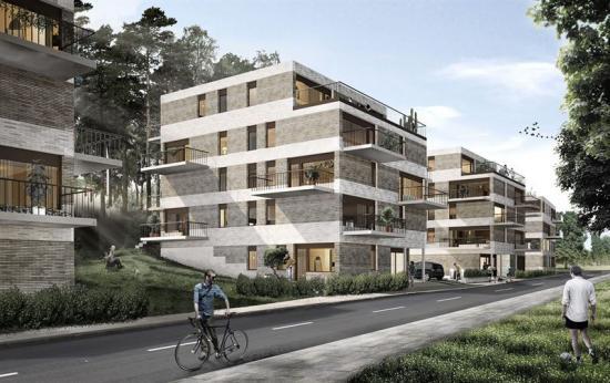 Byggstart sker under andra kvartalet i år och inflyttning av de första bostäderna är beräknad till början av 2020.