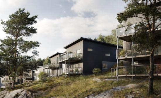 Visionsbild över Stensjövillan 3, Mölndal (bilden är en illustration).
