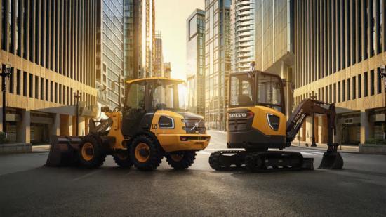 Nya Volvo L25 Electric och ECR25 Electric kan nu förbokas hos Swecon Anläggningsmaskiner.