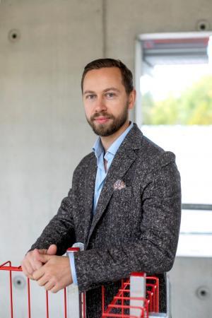 Martin Ulfving, avtalsansvarig för Väg- och banavtalet på Byggföretagen.
