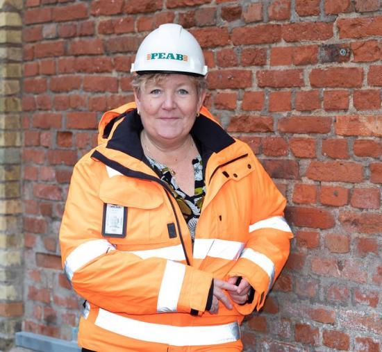 Liselott Bergkvist, regionchef på Peab.