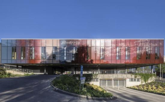 Vårdcentralen Nötkärnan i Angered var förra årets vinnare av årets bästa byggnad i Göteborg.