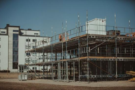 Husbyggnadsinvesteringarna växte under 2020.