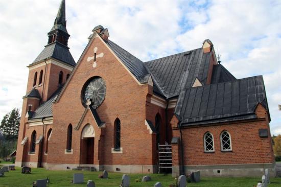 Stuguns nya kyrka.