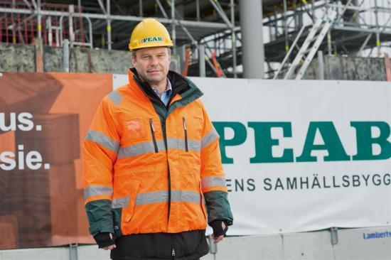 Roger Linnér, COO på Peab.