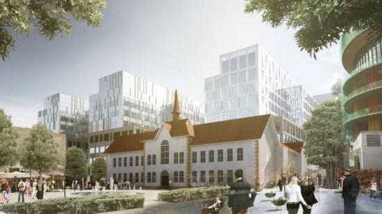Uppdraget att utveckla och samordna alla installationer på Nya Sjukhusområdet i Malmö har gått till en unik installatörsgrupp, bestående av APQ El, AB Rörläggaren, Assemblin El, Assemblin Ventilation och Assemblin VS.