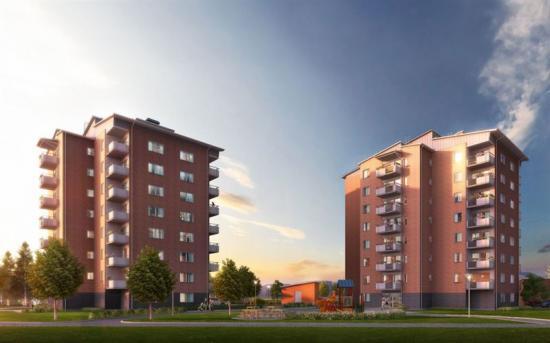 Visionsbild över Folkboende i Munkedal (bilden är en illustration).