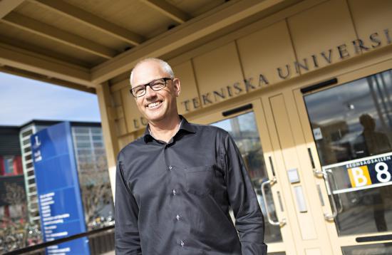 Lars Stehn, forskare inom industriellt och hållbart byggande vid LTU som leder projektet.