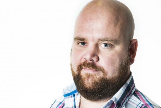 Johan Karlsson, arbetsmiljöombud på Seko